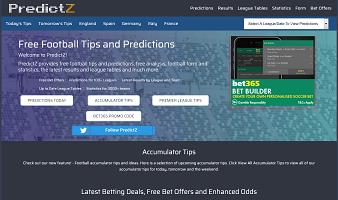 Predictz Predictions & Site in Detail
