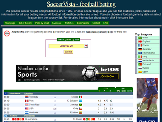 Soccervista Predictions & Review | Soccervista Info´s, Winning Rates