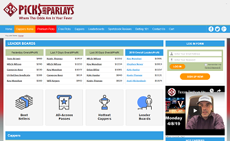Picksandparlays Cappers Leaderboards